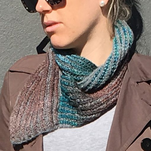 Fishermans Rib Cowl Reversible