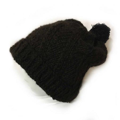 Alpaca Slouch Beanie Hat