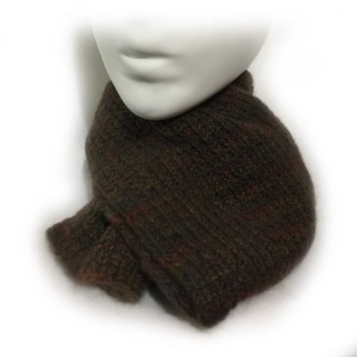 Alpaca Men's Scarf Knitted